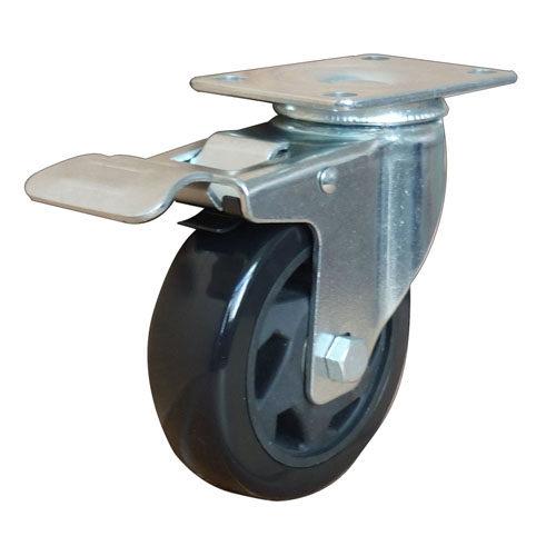 Swivel Brake Industrial Caster